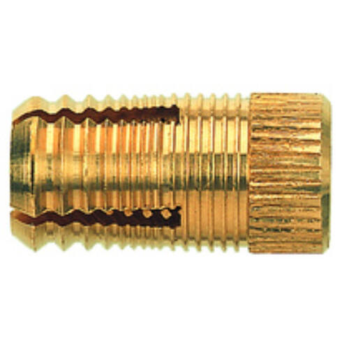 PA4M 6/10,5 sárgarézdübel metrikus